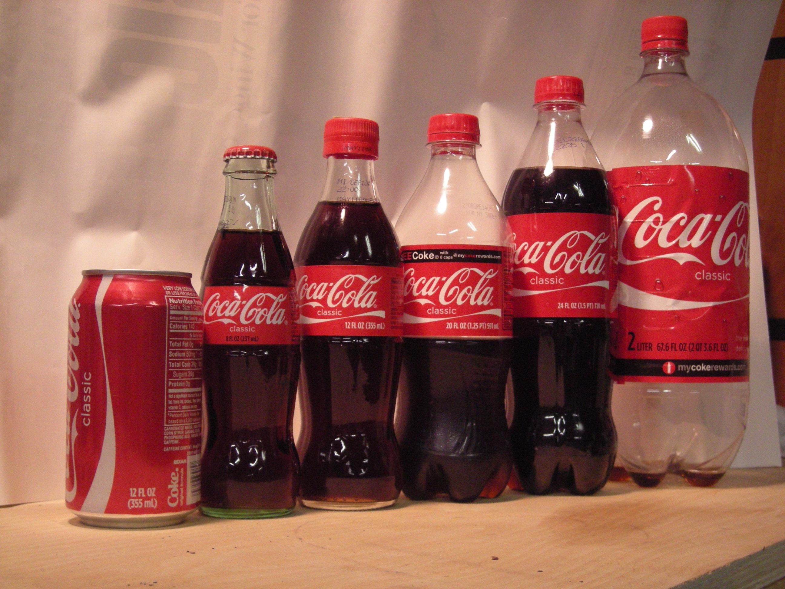 Coca cola bestilling