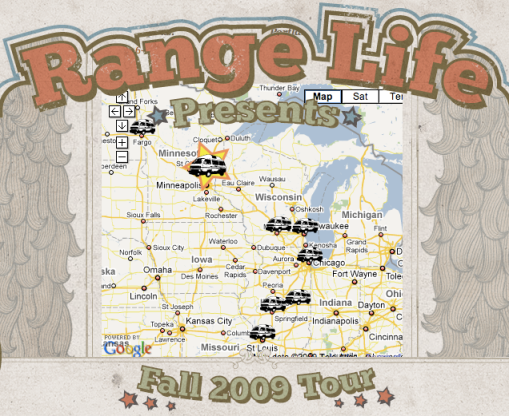 range life fall tour