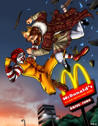 Burger_King_vs_Ronald_McDonald_by_TPollockJR